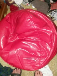 red leather bean bag chair Youngstown, 44512
