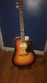 brown and black acoustic guitar North Augusta, 29841