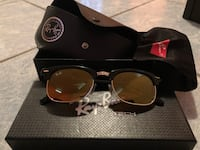 black framed Ray-Ban sunglasses with case Pharr, 78577