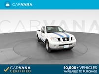 2015 Nissan Frontier King Cab pickup S Pickup 2D 6 ft White