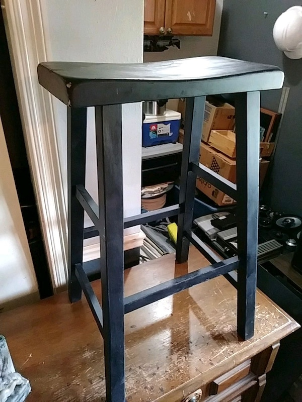 Used 2 Wooden Bar Stools For Sale In Chalmette Letgo