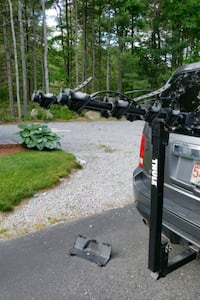 Thule 4 Bike Hitch Rack