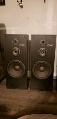 Sony 3 way speakers