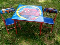 Spiderman Folding Table and Chairs Winston-Salem, 27103