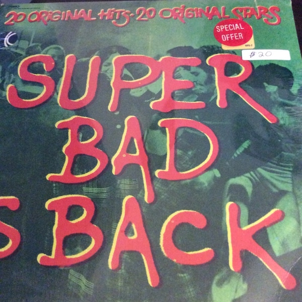 JUST REDUCED Vinyl Record Super Bad is Back