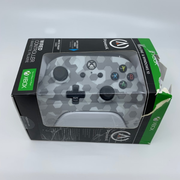 PowerA Xbox One Wired Controller Arctic Frost Camo