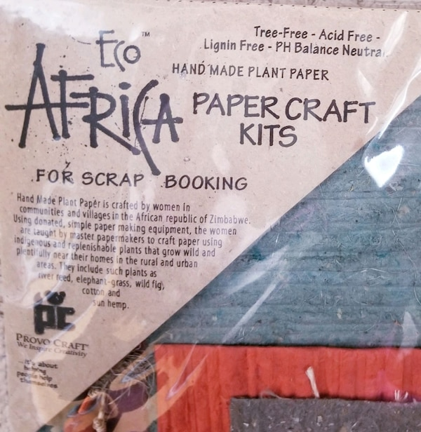 Eco Africa Paper craft KIT: made in Africa from na