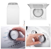 white top-load dryer