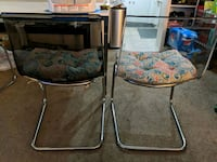 Plastic and metal dining chair  Torrance, 90504