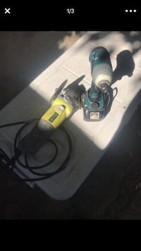 black and gray corded power tool Los Angeles, 90008