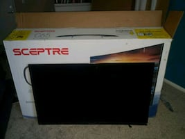 "55"" UHD LED TV for parts"