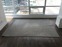 Rug | 6'x8' | Silver colour | Synthetic Sisal | Plus non-slip rug pad Toronto, M5V 1J5