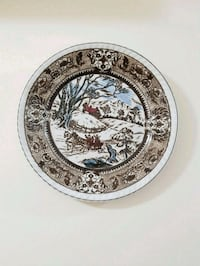Snow valley picture plate wall or table Vaughan, L4J