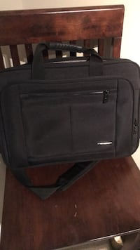 black soft-side luggage 42 km