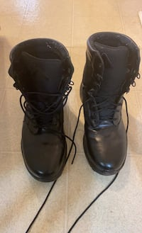 Black Leather Work Boots Burtonsville, 20866