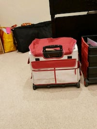 two red and black car seats Great Amwell, SG12 9RU