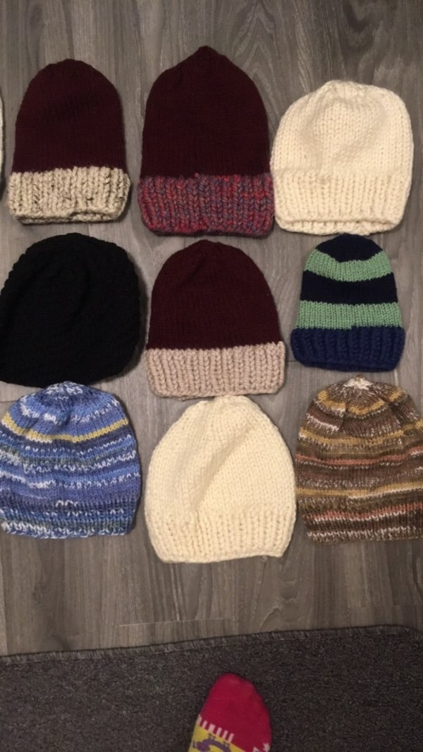 04c3e14d0 Hand knitted hats for sale :)