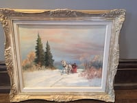 Original signed painting. Brantford, N3T 3H7