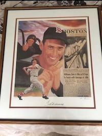 Ted Williams Autograph Los Angeles, 91602