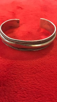 Sterling Silver Bracelet also Matching Ring Clinton, 39056
