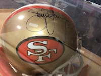 Steve Young autographed full size helmet Stafford Township, 08050