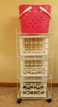4-Tier Collapsible Laundry Organizer Shelving Council Bluffs, 51501