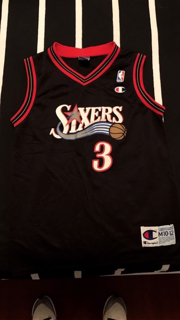 5989791a7 Used Allen Iverson basketball jersey for sale in New York - letgo