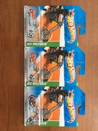 Hot Wheels Treasure Hunt Motorcycle OCC Splitback with 2 colour. L