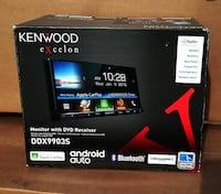 Kenwood Excelon Car Stereo Apple CarPlay Phone Connection Android Auto Double Din Bluetooth DVD CD Mp3 Am Fm ???? 90 Day Payment Option Available Pico Rivera