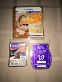 Scented wax melts (1 cube missing in Scentsy pkg)...Wb Meet only  Wilkes-Barre, 18702