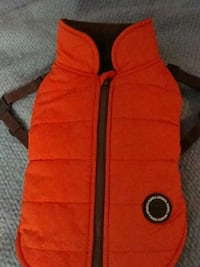 puppia brand  winter jacket with a barcode button for personal k9 info Portland, 97209