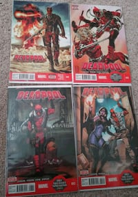 4 Deadpool comics #41-44 Lexington, 40513