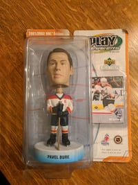 2001/2002 Pavel Bure bobble head and card by Upper deck