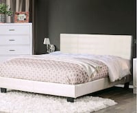New queen size bed frame and mattress Oak Grove, 97267