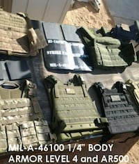High Impact Level 4 Body Armor Brand New (FREE VEST WITH PURCHASE)