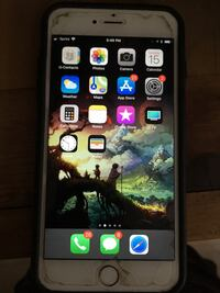 Space gray iphone 6 with case Huntington Beach, 92648