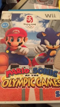 Wii game - Mario and sonic at the Olympic Games  Fort Saskatchewan, T8L 4M2
