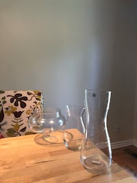 clear glass pitcher and drinking glass Ottawa, K1V