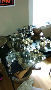 Silver plated dishware 32 km