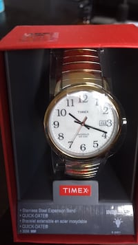 Stainless Steel Timex Watch OBO Mississauga, L5N 8J1