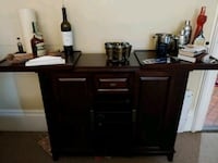 Bar cabinet (accessories and liquor not included) Norwalk, 06854
