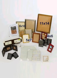 Assorted picture frames 32 km