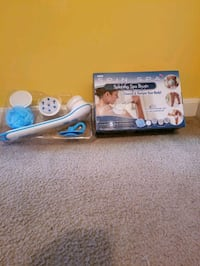 New! Spin Spa Spinning Spa Brush