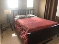 Used queen bed and mattress  Pleasanton, 94566