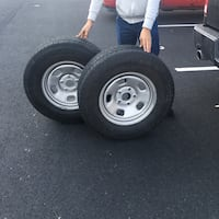 Four17 inchTRUCKwheels/tires $160 tire size P 265 70/R 17 Leesburg