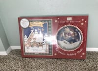 Holiday plate and book  Steilacoom, 98388