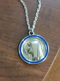 Beautiful silver necklace of girl The Woodlands, 77381