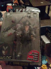 Geni Simmons from Kiss action figure