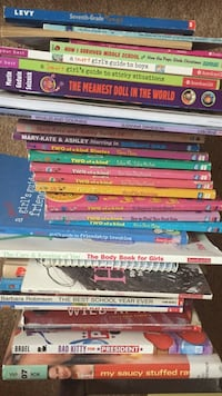 Kids books --hardback $2 & softcover &1 each Chantilly, 20152