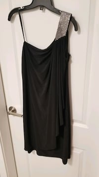BNWT Le Chateau one shoulder black dress - size L Vancouver, V7Y 1G5